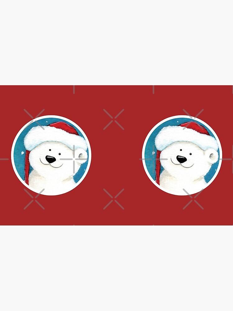 Christmas Polar Bear by LisaMarieArt