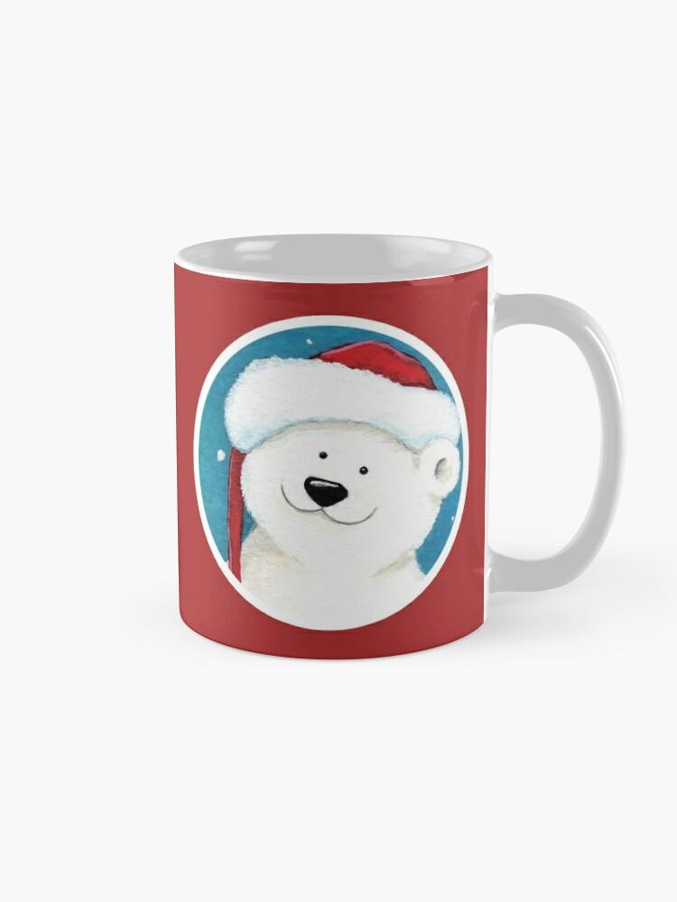 Alternate view of Christmas Polar Bear Mug