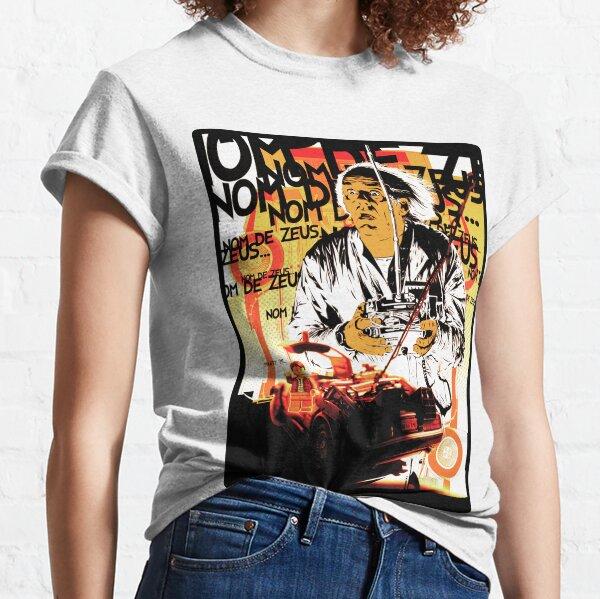 Back to the futur retour vers le futur T-shirt classique