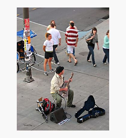 In Tune (ByWard Market) Photographic Print
