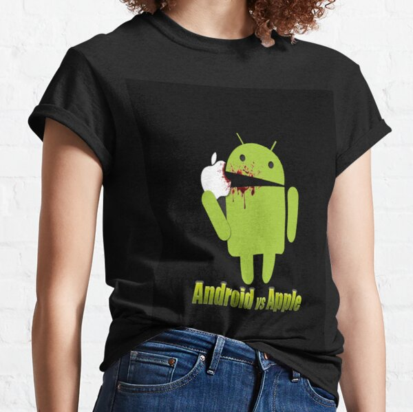 The Fan Tee Camiseta Manga Larga de NI/ÑOS Divertidas Apple Windows Android