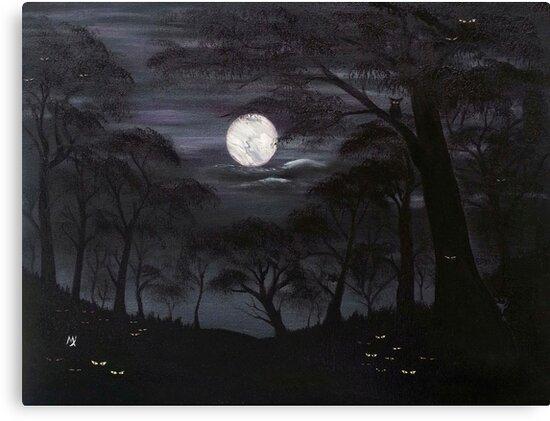 Lost In The Dark Woods by MelanieJoy