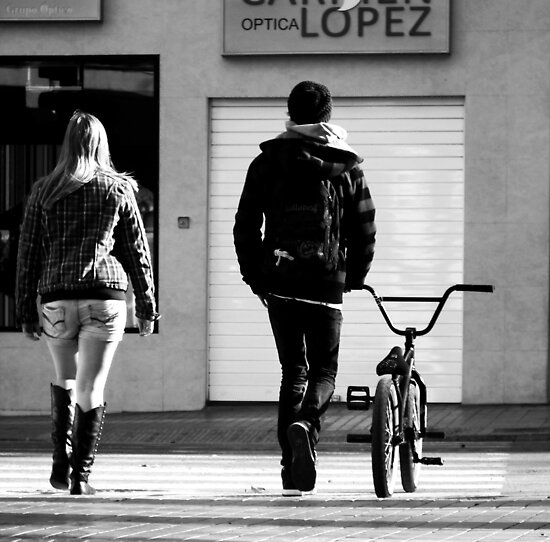 Excercise Bike.. by Berns