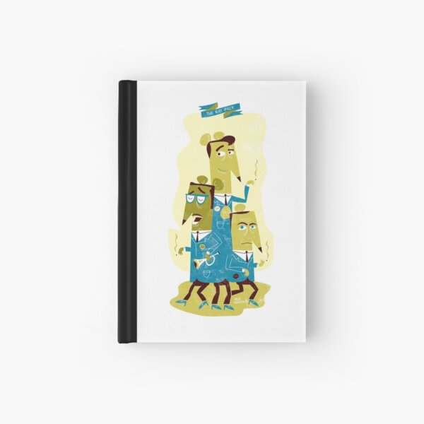 The Rat Pack Hardcover Journal