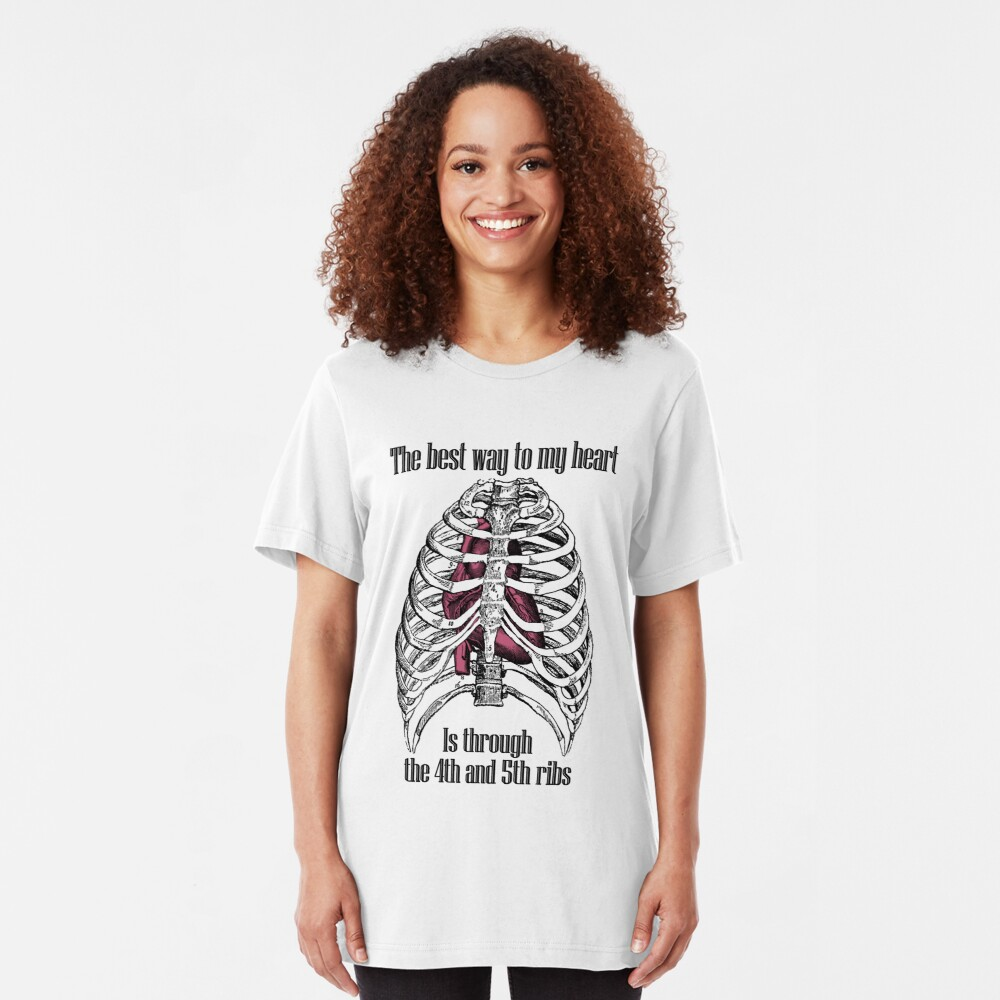 The Best Way to My Heart Slim Fit T-Shirt