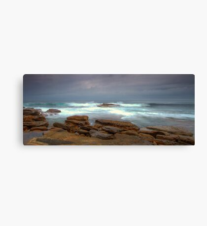 Stormy Water Canvas Print
