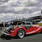 Spitfire & Morgan by Steven  Agius
