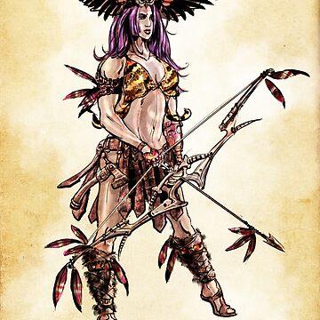 Amazon Owl-Mistress by Evmo