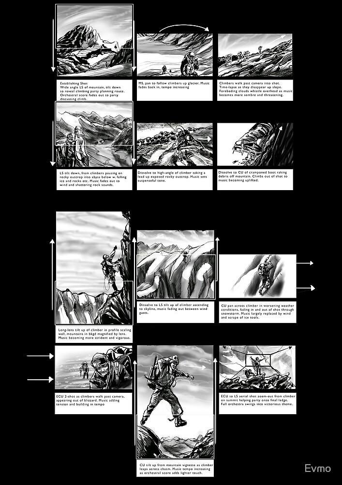 Mountain Odyssey (storyboard) by Evan F.E. Lole