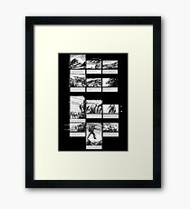 Mountain Odyssey (storyboard) Framed Print