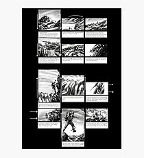 Mountain Odyssey (storyboard) Photographic Print