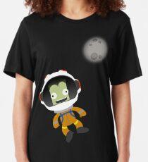 Mún or Bust! Kerbal Space Program Slim Fit T-Shirt