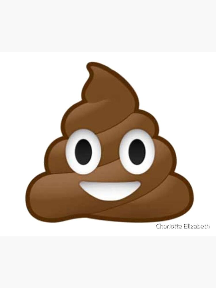 Poop Emoji von lottieelizabeth