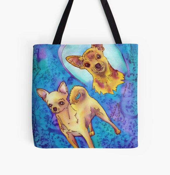Chihuahua All Over Print Tote Bag