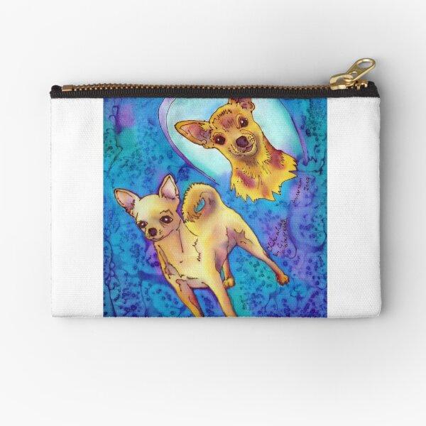 Chihuahua Zipper Pouch