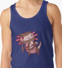 Halloween Axolotl - Mummy! Tank Top