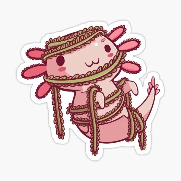 Halloween Axolotl - Mummy! Sticker