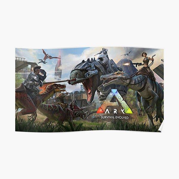 Dinosaurs War Ark Póster