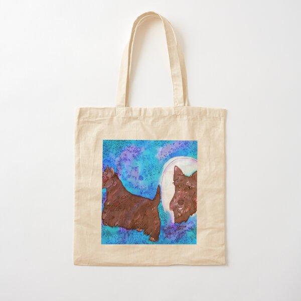 Scottish Terrier Cotton Tote Bag
