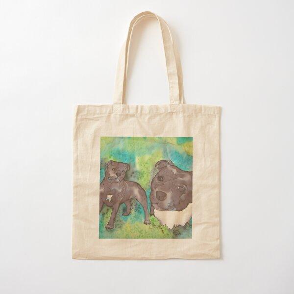 Staffordshire Bull Terrior Cotton Tote Bag