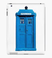 Traditional UK Police Box iPad Case/Skin