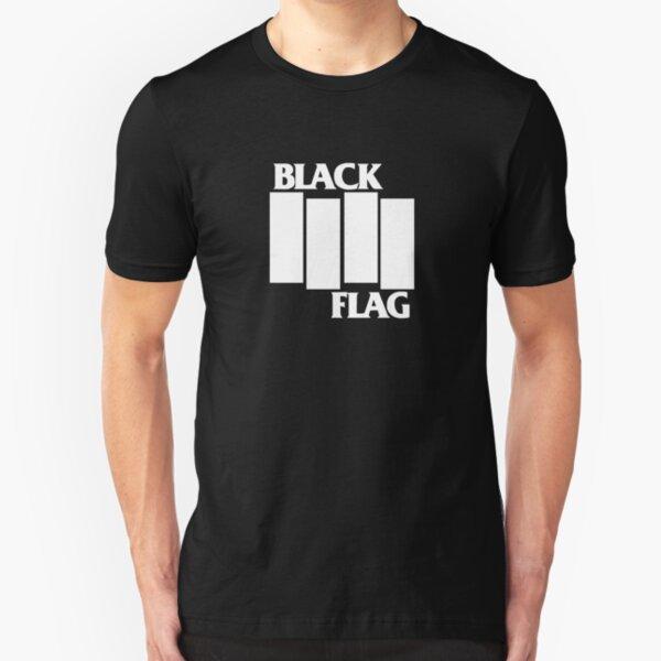 Best Seller Black Flag Merchandise Slim Fit T-Shirt