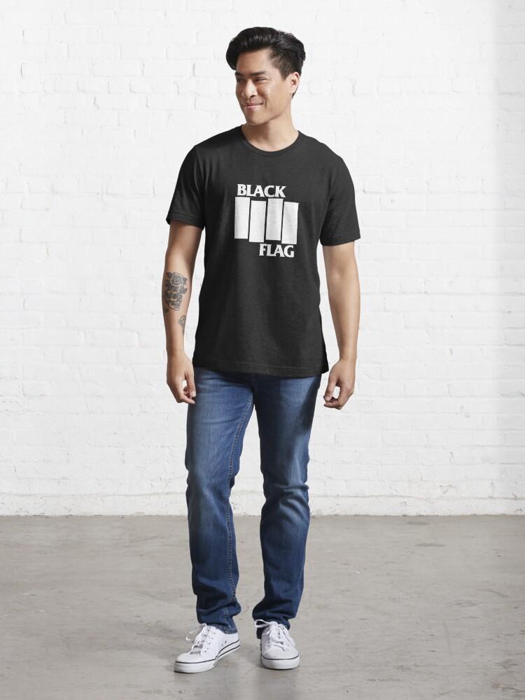 Alternate view of Best Seller Black Flag Merchandise Essential T-Shirt