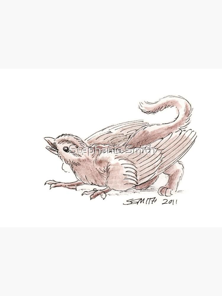 Sketch -- Mythological House Griffin, Sparrow variety by stephsmith