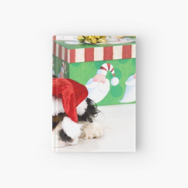 Cavalier King Charles Spaniel Christmas Hardcover Journal