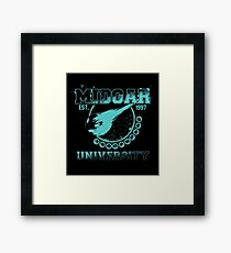 Midgar University Framed Print