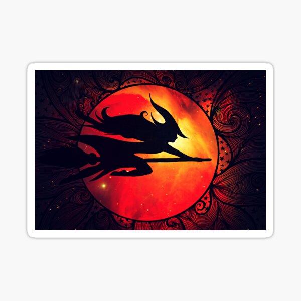 Hallowed Eve Flight Sticker