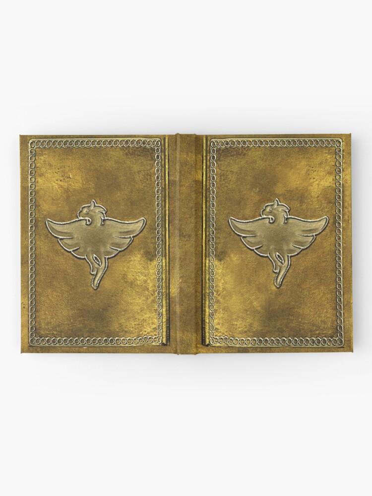 Alternate view of Skyrim Restoration Spell Tome Hardcover Journal