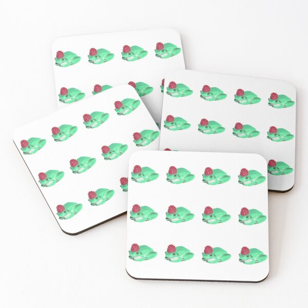 The Frog King Coasters (Set of 4)