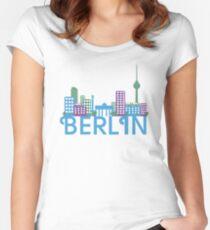 Skyline Berlin Women's Fitted Scoop T-Shirt