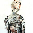 Geisha voodoo doll 2,2009 by Thelma Van Rensburg