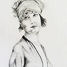 Look into my eyes, 2009 by Thelma Van Rensburg