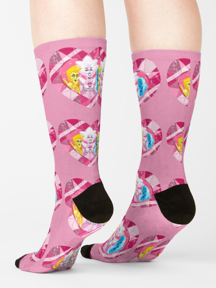 Alternate view of Let Us Adore You Socks