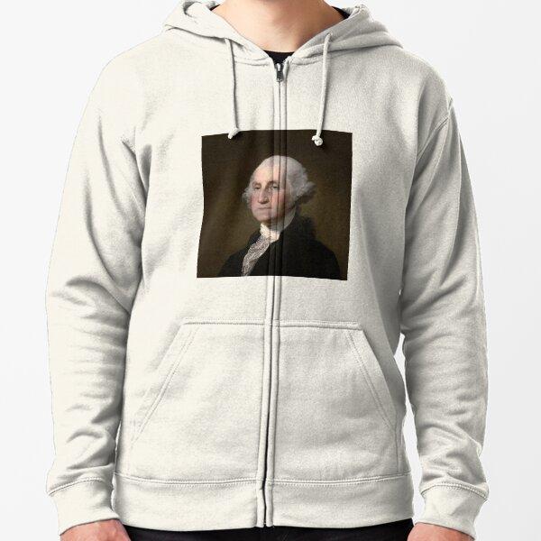 George Washington    Zipped Hoodie