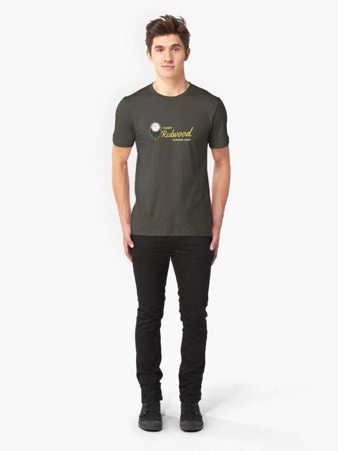 Alternate view of Redwood Camp Slim Fit T-Shirt