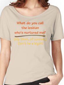 BIGOT:  LESBIAN MOM Women's Relaxed Fit T-Shirt