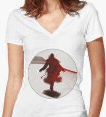 Ezio Silhouette Women's Fitted V-Neck T-Shirt