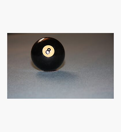 The Lone Eight Ball Photographic Print