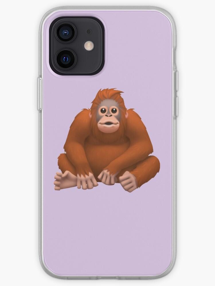 Orangutan Emoji   iPhone Case & Cover