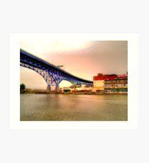 Shoreway Bridge Art Print