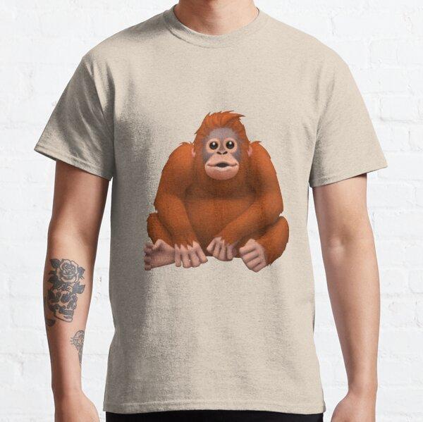 Orangutan Emoji Classic T-Shirt