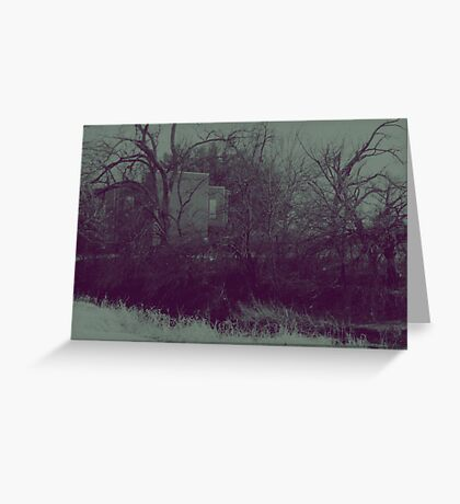 A Hint of Civilization Greeting Card