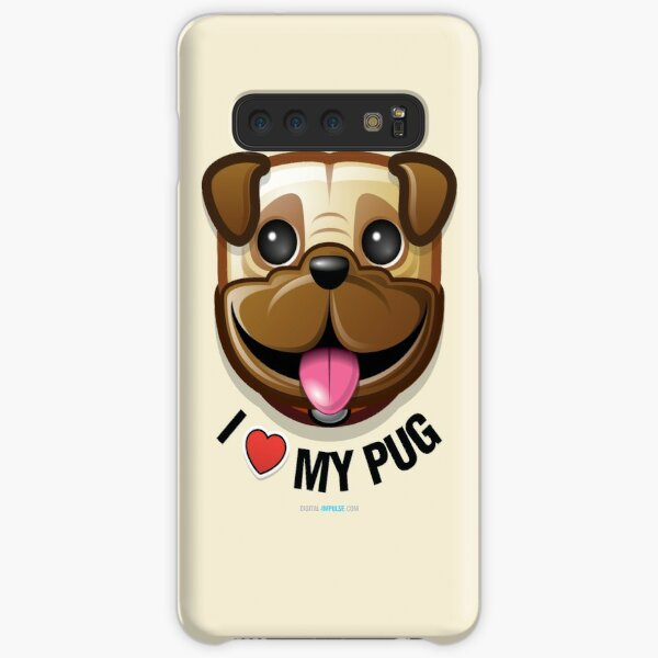 I Love My Pug Samsung Galaxy Snap Case