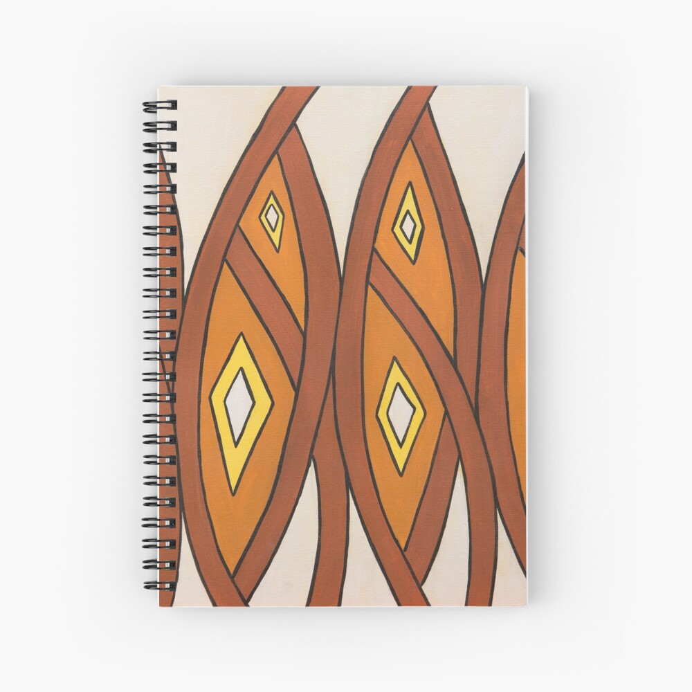 Crocodile Totem Design Spiral Notebook