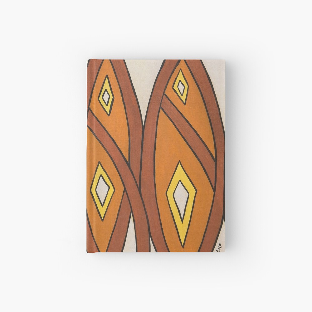Crocodile Totem Design Hardcover Journal
