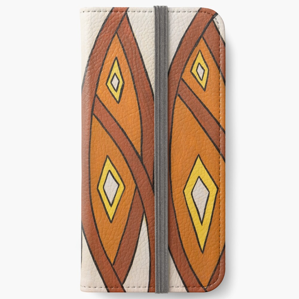 Crocodile Totem Design iPhone Wallet